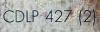 CDLP 427 - Numero seriale