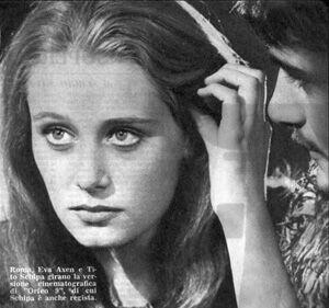 """Roma. Eva Axen e Tito Schipa girano la versione cinematografica di """"Orfeo 9"""", di cui Schipa è anche regista."""