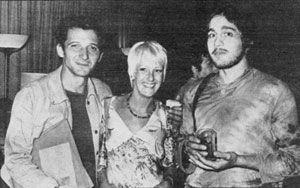 Bruno Cirino, Chrystel Dane e Tito Schipa Jr.